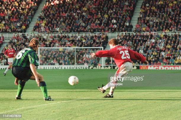 Middlesbrough 1-1 Leeds, Premier league match at the Riverside Stadium, Saturday 4th November 1995; pictured: Juninho Paulista, Brazilian attacking...