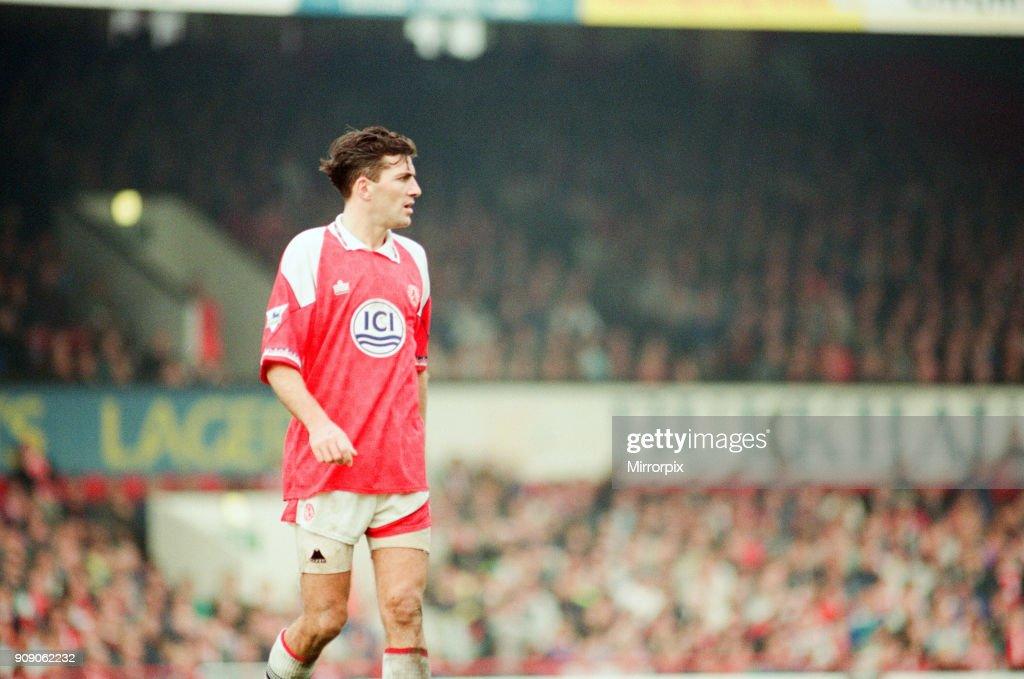 Middlesbrough 1992 : News Photo