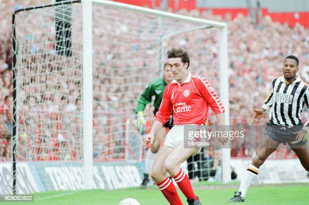 Middlesbrough 1-1 Notts County, League Division Two Play Off 1st Leg match at Ayresome Park, Sunday 19th May 1991. Bernie Slaven.