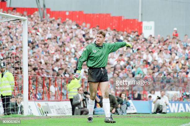Middlesbrough 1-1 Notts County, League Division Two Play Off 1st Leg match at Ayresome Park, Sunday 19th May 1991. Andy Dibble, Goalkeeper.
