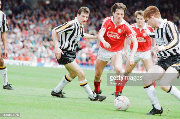 Middlesbrough 1-1 Notts County, League Division Two Play Off 1st Leg match at Ayresome Park, Sunday 19th May 1991.