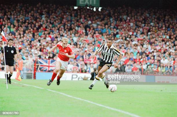 Middlesbrough 11 Notts County League Division Two Play Off 1st Leg match at Ayresome Park Sunday 19th May 1991 Stuart Ripley