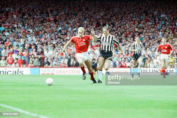 Middlesbrough 1-1 Notts County, League Division Two Play Off 1st Leg match at Ayresome Park, Sunday 19th May 1991. Stuart Ripley.