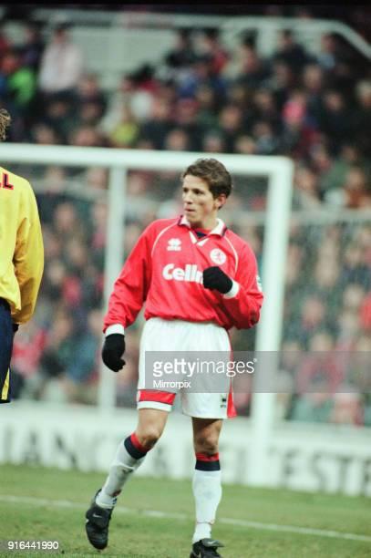 Middlesbrough 11 Premiership match at the Riverside Stadium Saturday 16th March 1996 Juninho Paulista