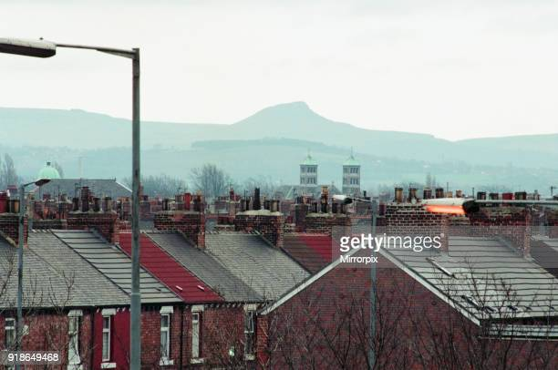 Middlesbrough 16th February 1993 Rooftops and Chimney Pots