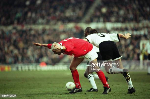 Middlesbrough 3- 2 Hednesford Town, FA Cup 4th round match held at the Riverside Stadium, 25th January 1997.
