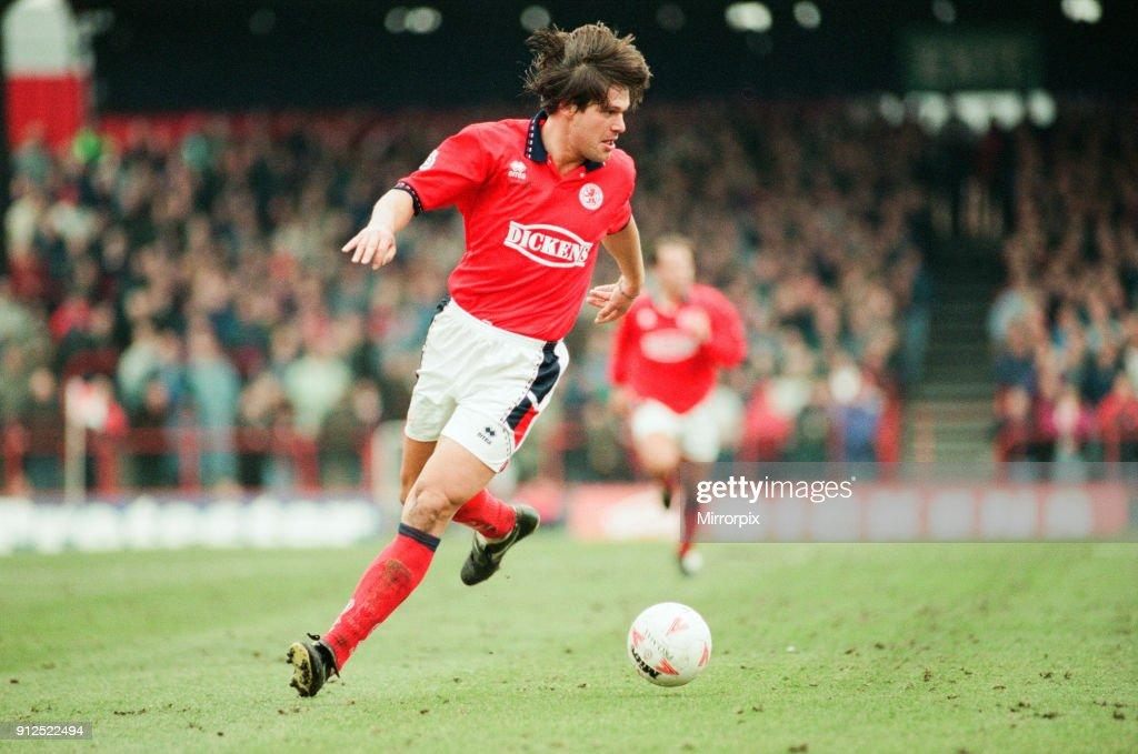 Middlesbrough 1995 : News Photo