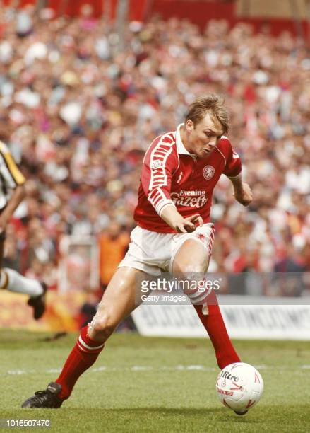 Middlesbrough and Republic of Ireland defender Alan Kernaghan in action during a First Division match against Notts County at Ayresome Park on May 19...