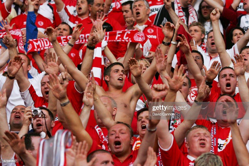 UEFA Cup Final: Middlesbrough v Sevilla : News Photo