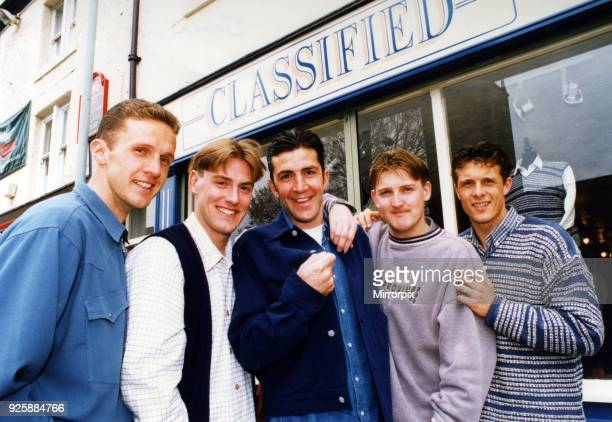 Middlesbrough FC football player Jamie Pollock and brother Christopher who have opened a clothes shop called Classified in Church Road, Stockton....