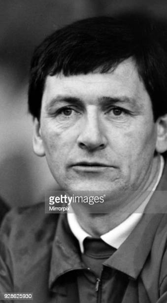 Middlesbrough FC. Manager Bruce Rioch, 4th February 1989.