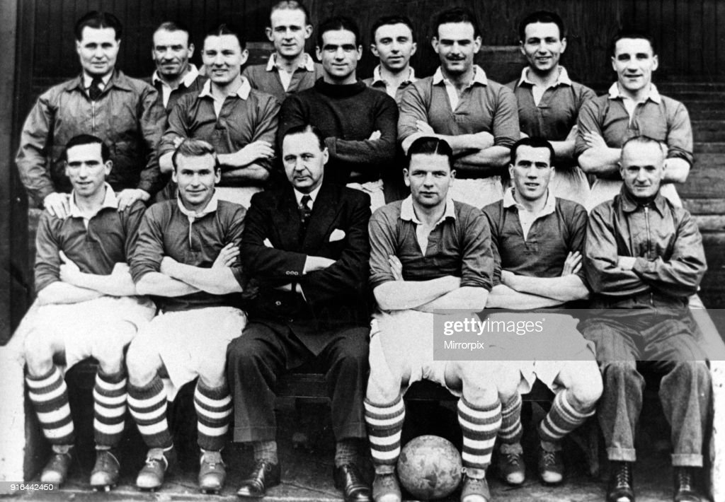 Middlesbrough FC team group  Back Row, left to right: Harold