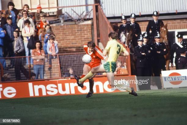 Middlesbrough F.C. V Norwich City, Ayresome Park, Middlesbrough, final score Middlesbrough 6 - 1 Norwich, 4th October 1980.
