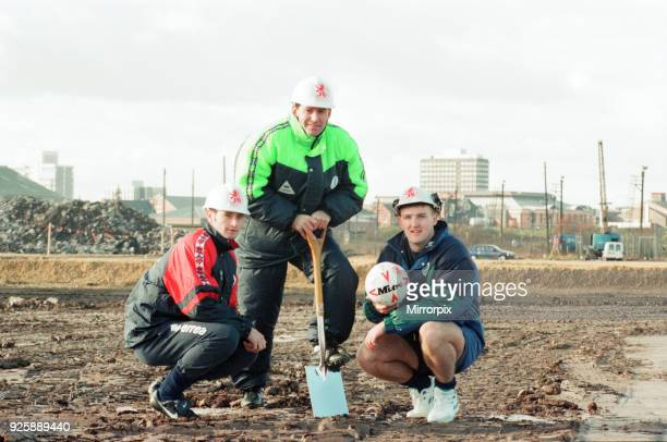 Middlesbrough Football Club Commencement of building new stadium Friday 28th October 1994 Bryan Robson Player manager Middlesbrough FC Alan Moore...