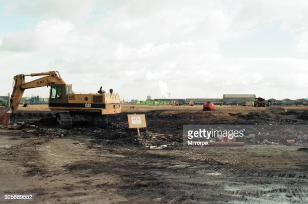 Middlesbrough Football Club. Commencement of building new stadium, Friday 28th October 1994.