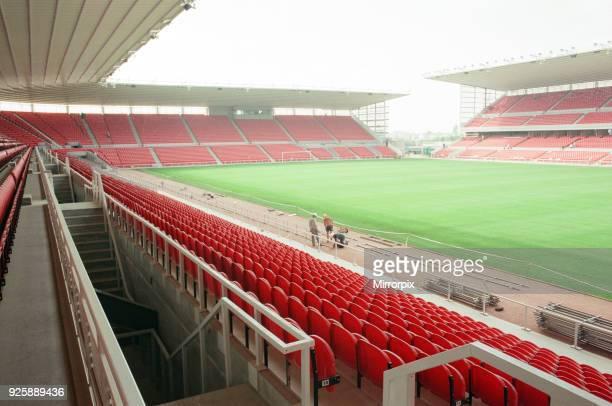 Middlesbrough Football Club new Riverside Stadium under constriction Circa 1995