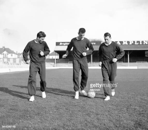 Middlesbrough Football Players in team training session 28th October 1959