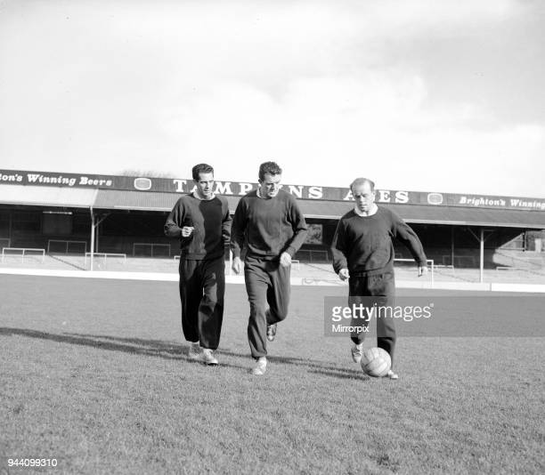 Middlesbrough Football Players, in team training session, 28th October 1959.