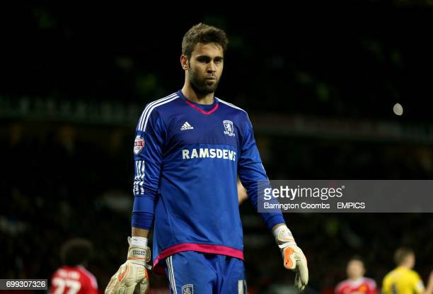 Middlesbrough goalkeeper Tomas Mejias