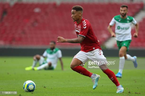 Middlesbrough Marcus Tavernier of Middlesbrough during the Pre-season Friendly match between Middlesbrough and AS Saint-tienne at the Riverside...
