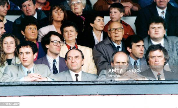 Middlesbrough new board 1993. Left to Right Steve Gibson, Reg Corbidge, Graham Fordy and the then chairman Colin Henderson 18th August 1993.