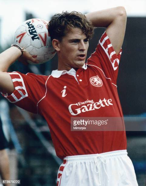 Middlesbrough player Colin Cooper in action 1991