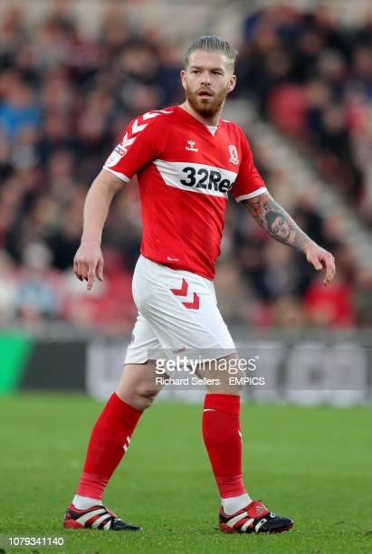 Middlesbrough's Adam Clayton Middlesbrough v Sheffield Wednesday Sky Bet Championship Riverside Stadium