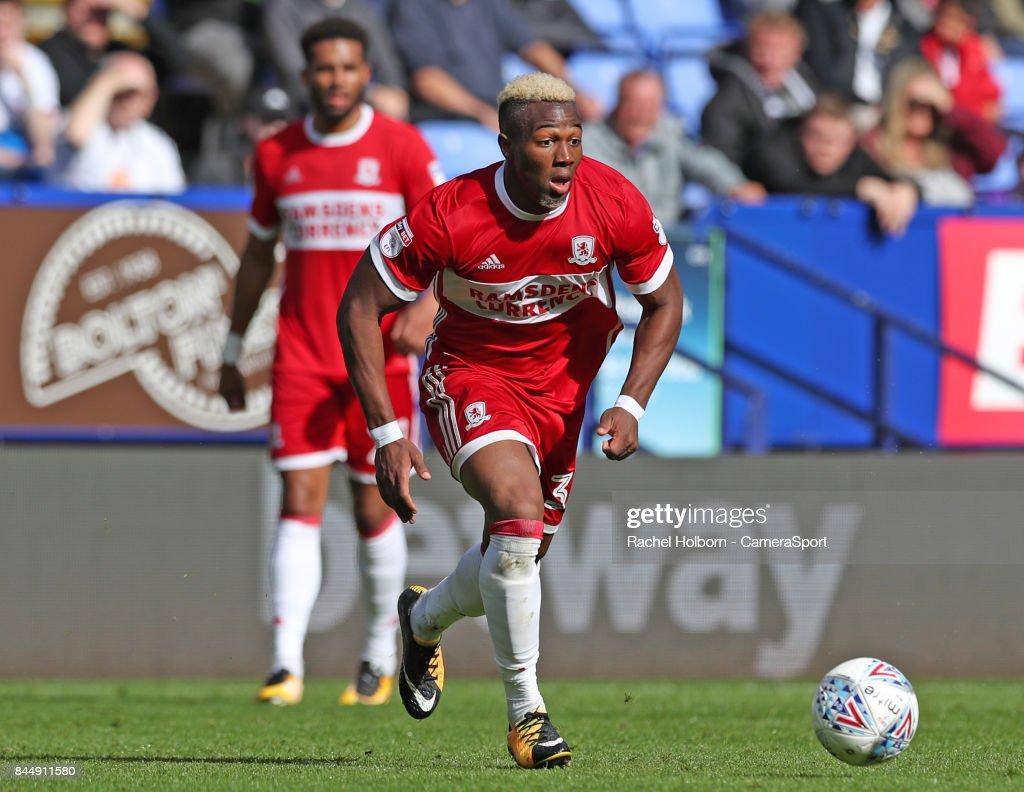 Bolton Wanderers v Middlesbrough - Sky Bet Championship : ニュース写真