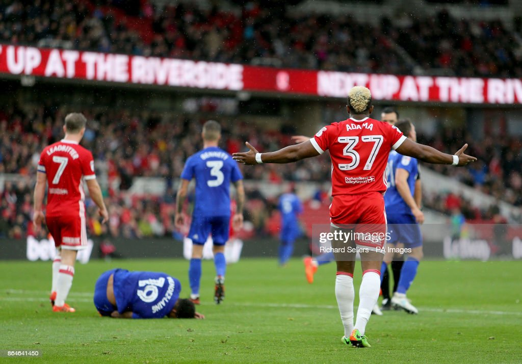 Middlesbrough v Cardiff City - Sky Bet Championship - Riverside Stadium : News Photo
