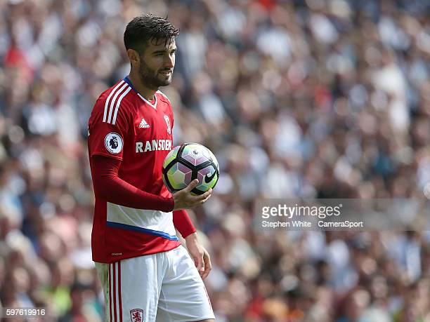 BROMWICH ENGLAND AUGUST Middlesbrough's Antonio Barragan during the Premier League match between West Bromwich Albion and Middlesbrough at The...