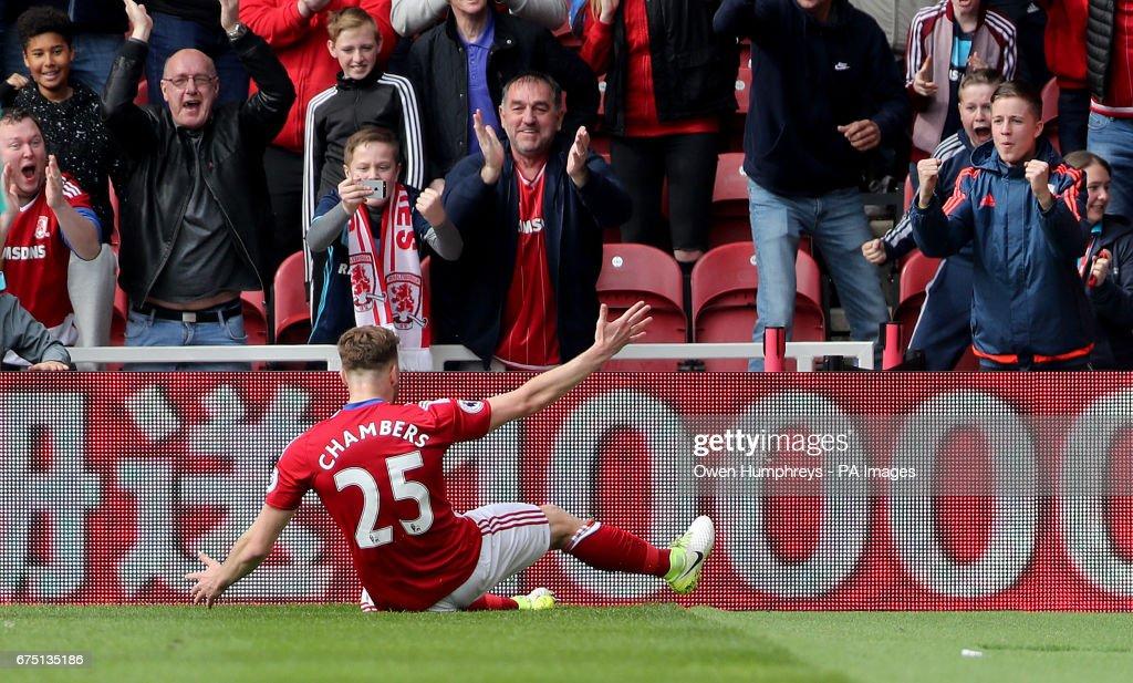 Middlesbrough v Manchester City - Premier League - Riverside Stadium : News Photo