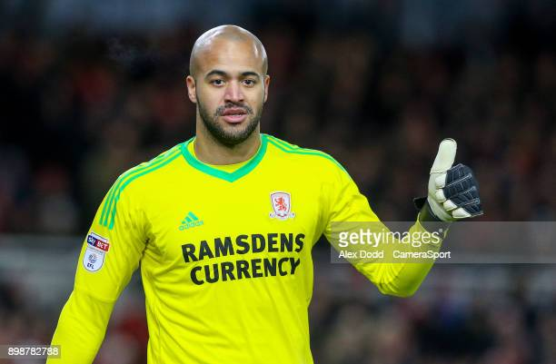 MIDDLESBROUGH ENGLAND DECEMBER Middlesbrough's Darren Randolph during the Sky Bet Championship match between Middlesbrough and Bolton Wanderers at...