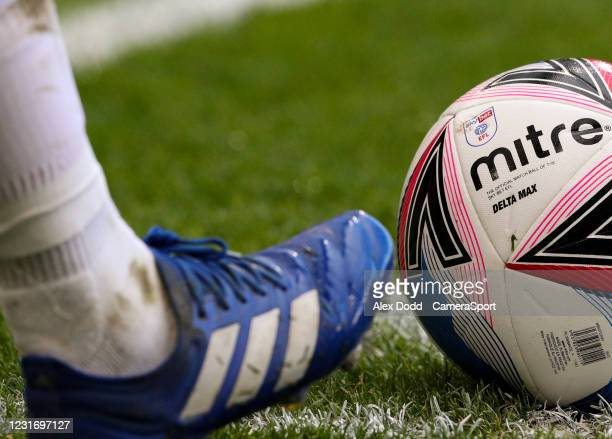 Middlesbrough's Marc Bola prepares to take a corner during the Sky Bet Championship match between Middlesbrough and Stoke City at Riverside Stadium...