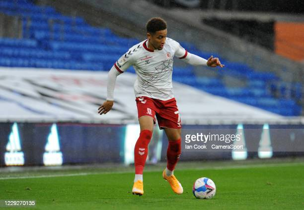 Middlesbrough's Marcus Tavernier during the Sky Bet Championship match between Cardiff City and Middlesbrough at Cardiff City Stadium on October 24...
