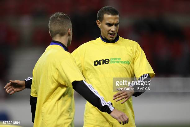 Middlesbrough's Seb Hines prior to kick-off