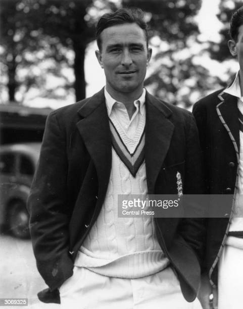 Middlesex and England cricketer Denis Compton who holds the world records for runs centuries and fastest triple centuries