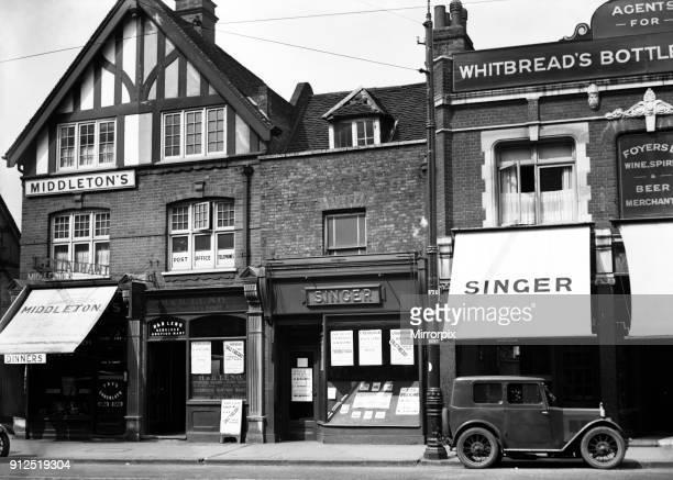Middleton's Restaurant High Street Uxbridge London Circa 1930
