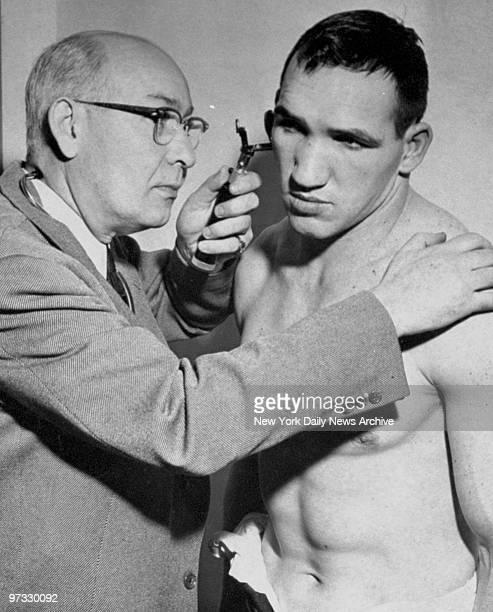 Middleweight boxer Gene Fullmer
