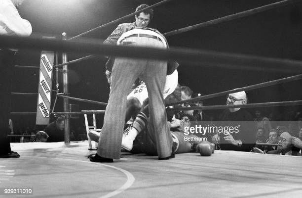 Middleweight boxer Willie Classen is knocked out during fight at Madison Square Garden 11/23 Classen did not regain consciousness and died 11/28...