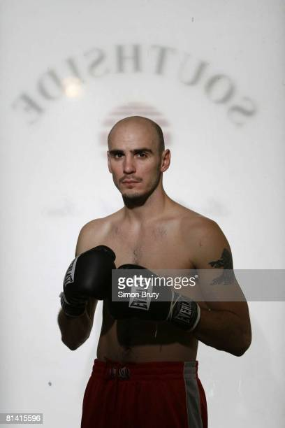 Middleweight Boxing Portrait of world champion Kelly Pavlik at Southside Boxing Club Youngstown OH 1/17/2008
