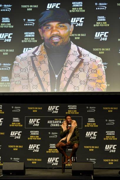 NZL: UFC 248 Adesanya v Romero: Press Conference