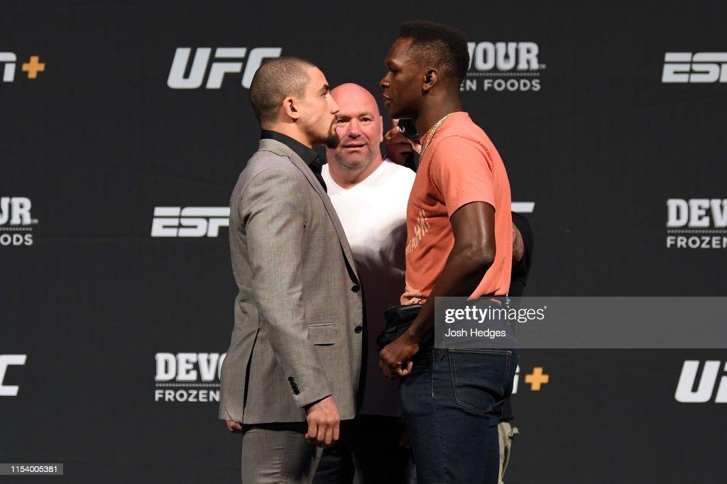 UFC Seasonal Press Conference : Foto jornalística