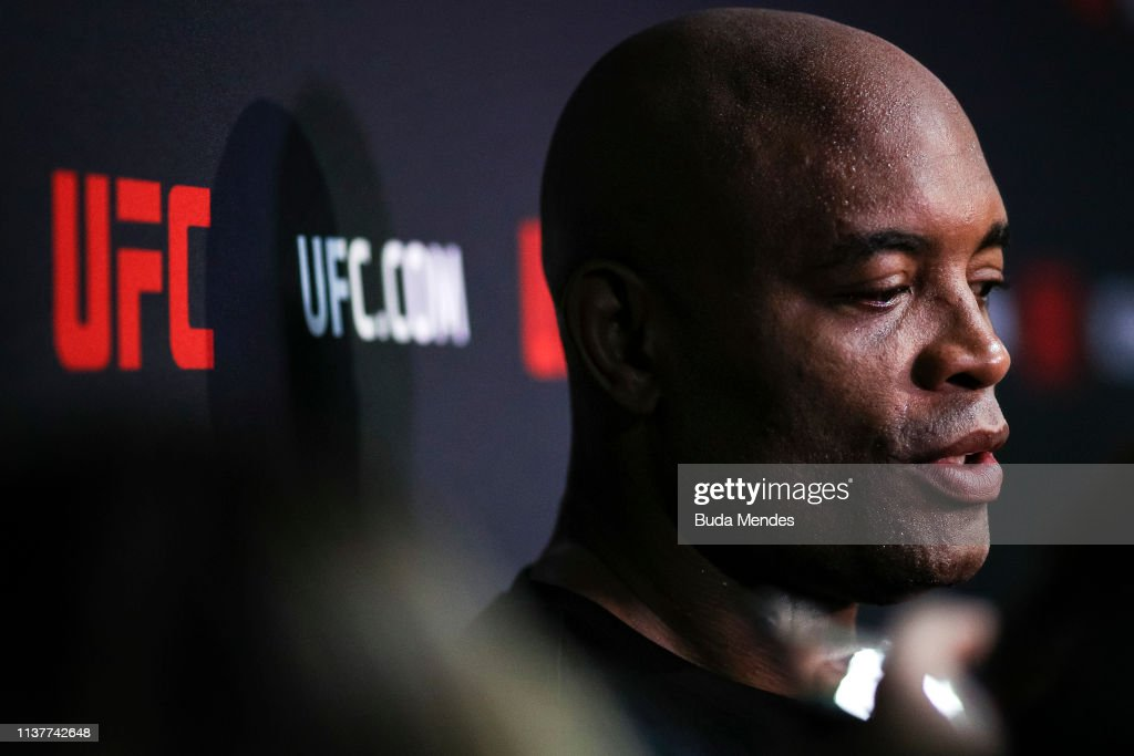 BRA: Media Day with Anderson Silva