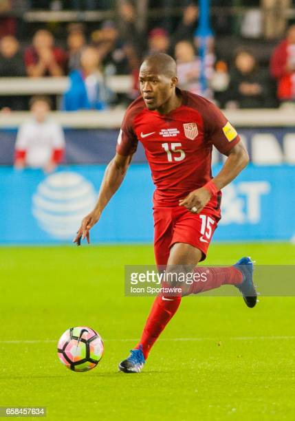 S midfielder Darlington Nagbe during the World Cup Qualifier between the US Men's National Team and Honduras at Avaya Stadium on March 242017 in San...