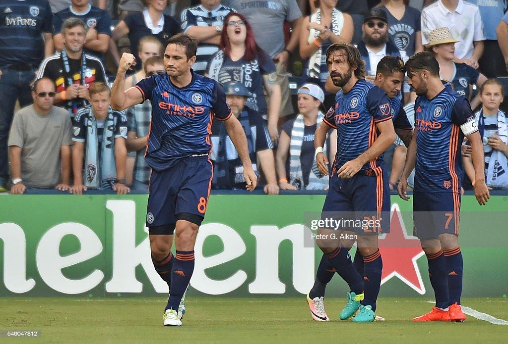 New York City FC v Sporting Kansas City : News Photo