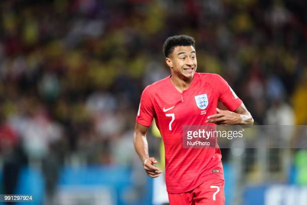 midfielder Jesse Lingard of England National team during the round of 16 match between Colombia and England at the FIFA World Cup 2018 at Spartak...