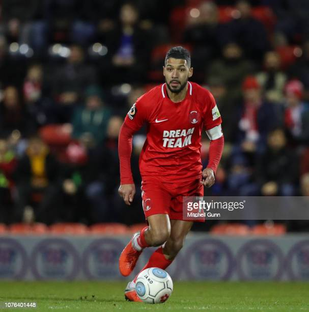 Midfielder Jobi McAnuff of Leyton Orient during the Vanarama National League match between Leyton Orient and Dagenham and Redbridge at The Breyer...