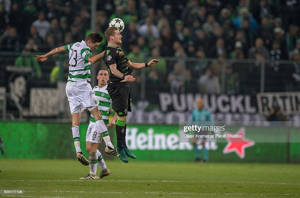 VfL Borussia Moenchengladbach v Celtic FC - UEFA Champions League : News Photo