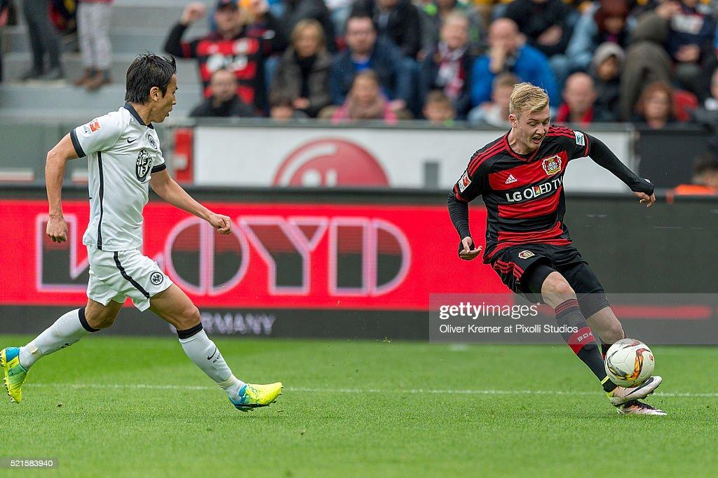 Bayer Leverkusen v Eintracht Frankfurt - Bundesliga : News Photo