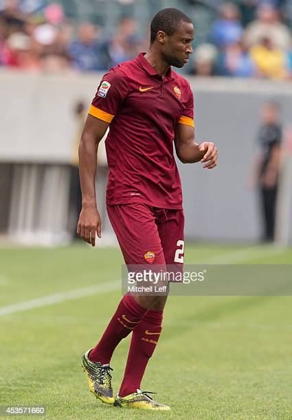 Midfielder Seydou Keita of AS Roma participates in the match against FC Internazionale Milano during the International Champions Cup on August 2 2014...